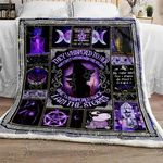 I Am The Storm Witch GS-CL-LD3010 Sherpa Fleece Blanket