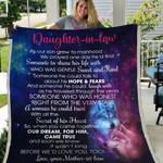 Daughter In Law We'd Love You GS-CL-DT3103 Sherpa Fleece Blanket