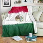 Mexico Flag Bandana GS-CL-DT0102 Sherpa Fleece Blanket