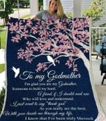 To My Godmother GS-CL-LD0707 Sherpa Fleece Blanket