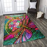 A Beautiful Dragonfly GS-CL-TH0408 Rug