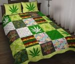 Cannabis Keep Calm And Smoke Weed GS-CL-KL0307 Bedding Set