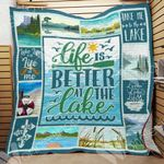 Life Is Better At The Lake GS-CL-LD3110 Quilt Blanket