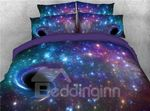 Black Holes In Purple Galaxy GS-CL-ML2310 Bedding Set