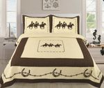 Cowboy And Horse GS-CL-LD2506 Bedding Set