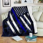 Thin Blue Line GS-CL-NT0201 Sherpa Fleece Blanket