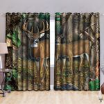 Deer Hunting GS-CL-LD1906 Blackout Thermal Grommet Window Curtains