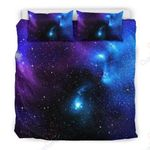 Dark Purple Blue Galaxy Space GS-CL-DT0704 Bedding Set