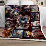 Proud American Eagle GS-CL-LD3010 Sherpa Fleece Blanket