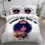 Dream Big And Boss Up GS-CL-LD1106 Bedding Set