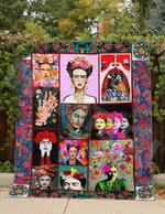 Frida Kahlo Paint By Your Mind GS-CL-DT0107 Quilt Blanket