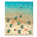 Turtle Beach GS-CL-ML1104 Sherpa Fleece Blanket