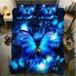 Butterfly Glowing Blue Butterfly GS-CL-DT1111 Bedding Set