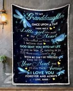 Dragonfly Granddaughter Nana Once Upon A Time GS-CL-DT1810 Sherpa Fleece Blanket