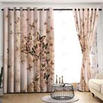 Butterfly GS-CL-KC0906 Blackout Thermal Grommet Window Curtains