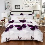 Purple Butterfly GS-CL-LD3005 Bedding Set