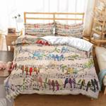 Musical Birds GS-CL-DT0910 Bedding Set