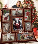 Farmer Christmas AAA101104TA Quilt Blanket