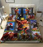 Dragon Is My Christmas Gift DTC2111929 Bedding Set
