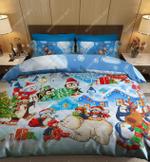 Penguins Christmas DTC2111917 Bedding Set