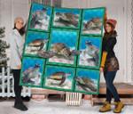 Sea Turtle DTC2311715 Quilt Blanket
