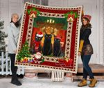 Black Cat Christmas DTC2311814 Quilt Blanket