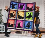 Yoga Cat DTC2311701 Quilt Blanket