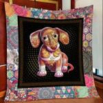 Dachshund Christmas DTC2311769 Quilt Blanket