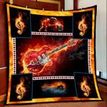 Guitar DTC2311742 Quilt Blanket
