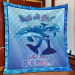 Dolphin DTC2311760 Quilt Blanket