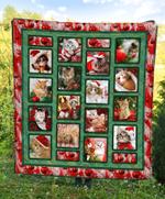 Cat Christmas DTC2311788 Quilt Blanket