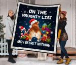 Corgi Christmas DTC2311783 Quilt Blanket
