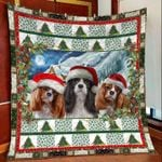Charles Spaniel Christmas DTC2311784 Quilt Blanket