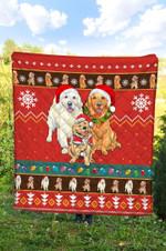 Labrador Retriver Christmas DTC2311730 Quilt Blanket