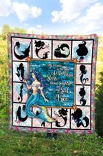 Mermaid DTC2311728 Quilt Blanket