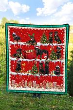 Rottweiler Christmas DTC2311720 Quilt Blanket