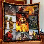 Firefighter DTC2311754 Quilt Blanket