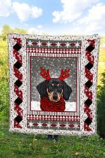 Dachshund Christmas DTC2311770 Quilt Blanket