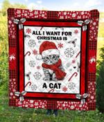 Cat Christmas DTC2311793 Quilt Blanket