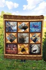 Moose DTC2311727 Quilt Blanket