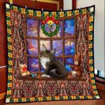 Cat Christmas DTC2311792 Quilt Blanket
