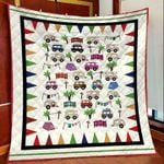 Camping car DTC2311795 Quilt Blanket