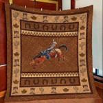 Cowboy Vintage DTC2311774 Quilt Blanket