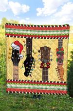 Guitar Christmas DTC2311744 Quilt Blanket