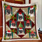 Pug Chritsmas DTC2311723 Quilt Blanket