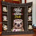 Sloth DTC2311709 Quilt Blanket