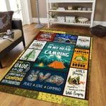 Peace Love Camping DTC2311926 Rug