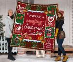 Dachshund Christmas DTC2311765 Quilt Blanket