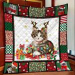 Cat Christmas DTC2311790 Quilt Blanket
