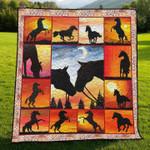 Horse DTC2311736 Quilt Blanket
